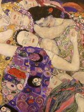 The Virgin Art Nouveau Style Gustav Klimt Vienna Secession Print