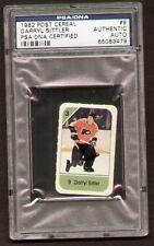 Darryl Sittler signed autograph auto 1982 Post Cereal Hockey Card PSA Slabbed