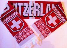 SWITZERLAND Football Scarf NEW from Superior Acrylic Yarns