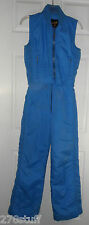 Snow SKI SUIT SPORTCASTER 2PC Women's SM Insulated Vest Pant SNOWBOARD ICE SKATE