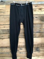 Mens Carhartt Drawers Long Johns Base Layer Pants Sz 2XL TALL Black