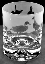 More details for ducks frieze boxed 30cl glass whisky tumbler