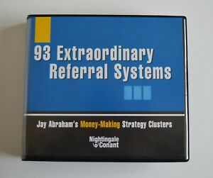 93 Extraordinary Referral Systems - Nightingale Conant -  Audiobook - 5CDs