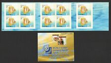 SINGAPORE 2003 TROPICAL MARINE FISHES 2ND REPRINT BOOKLET OF 10 STAMPS MINT MNH