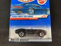 Hot Wheels 2000 FIRST EDITIONS '65 Vette Black BRAND NEW Super RARE 1:64