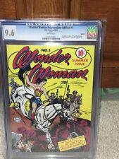 Wonder Woman #1 CGC 9.6 DC 2001 Masterpiece Edition! Reprint! JLA! F4 121 cm