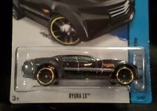 HW HOT WHEELS 2014 HW CITY #5/250 RYURA LX HOTWHEELS BLACK RACE TRACK READY VHTF