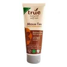 True Natural Organic Self Tanner Streak Free Medium Green Tea Lavender 3.4oz