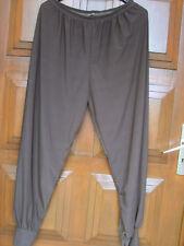 Pantalon TU polyester 93% /marron/ bas resserré taille élastiquée excellent état