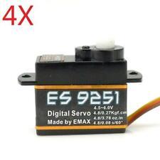 4X Emax ES9251 2.5g Plastic Micro Digital Servo For RC Model
