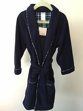New Janie and Jack Toddler Boys Holiday Special Robe Size 3-4 **Rare**