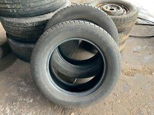 255/55R18 112V XL M+S General Grabber GT Tread 6mm Dot18 X2 Tyres No Repairs