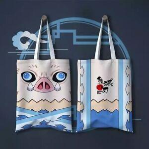 Demon Slayer: Kimetsu No Yaiba Animation Canvas Shoulder Bag Handbag 42x33cm
