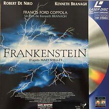 LASERDISC - FRANKENSTEIN - MARY SHELLEY WS VF PAL -Robert De Niro COMME NEUF