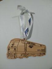 Amtrak P-42 Locomotive Empire Builder Car Christmas Ornament Train Railroad Buff