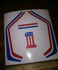 """Evel"" FAST TRACKER STICKERS"