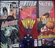 X-MEN: MUTIES 1,2,3,4,5,6...2002...NM-...Mutants Without Spandex!...Bargain!