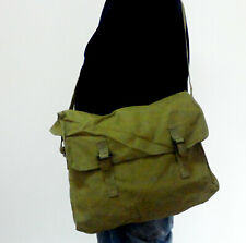 Chinese PLA Army Military Field Bag Pack Surplus Canvas Messenger Bag