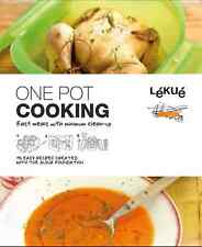 Lekue One Pot Cooking Kitchen Recipe Book