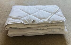 Luxury Quilted Mattress Topper King Size 150cm x 200cm. Vgc!