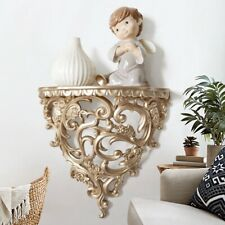 Hollow Wall Mount Home Decor Storage Display Rack Living Room Background Decor