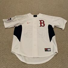 Curt Schilling Boston Red Sox Nike MLB Basball Sewn Jersey Men's Medium