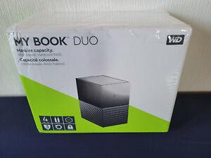 WD My Book Duo 4 TB (2x2TB), WDBFBE0040JBK-EESN