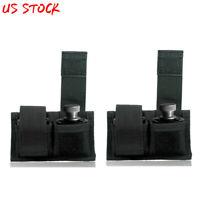 2pcs/set Double Speed Loader Belt Pouch Speedloader Case Fits 22 Mag thru 44 Mag