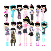 7x Doll Dress For Doll Toy Monster High School Party Costume Clothes Gift