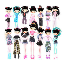 7x Fashion Doll Dress For Doll Toy Monster High School Party Costume Clothes