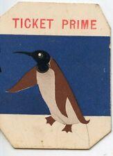 PAPIER PUBLICITAIRE / TICKET PRIME / LA MAISON DE LA LAINE CLERMONT FERRAND