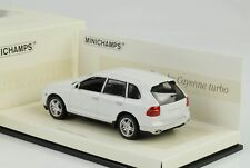 MINICHAMPS 436066270 Porsche Cayenne Turbo 2007 White