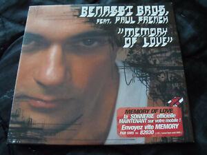 BENASSI BROS – Memory Of Love – 2004 – Cd SINGLE 3 titres