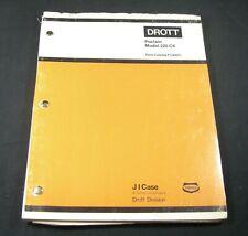 CASE DROTT Poclain 220 CK Crawler Excavator Parts Manual Catalog Book P1344071