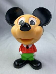 Vintage 1976 Mattel Disney Mickey Mouse Chatter Chums Talking Pull String Toy