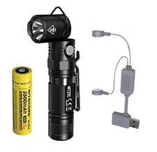 NITECORE MT21C 1000 Lumen Adjustable Flashlight w/NL1835 Battery & A1 Charger