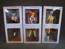 NEON GENESIS EVANGELION Collection Figure Rei & Asuka & Kaoru Set of 3 JAPAN