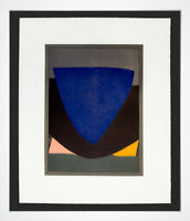 Victor VASARELY Original LITHOGRAPH Limited Edition w/Custom Frame
