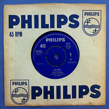 Frankie Vaughan - Hey Mama / Brand New Motor - Philips BF-1254 VG Condition