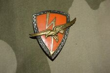 W715 insigne militaire pucelle armée Escadron Expérimental électronique Orléans