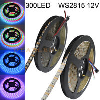 12V WS2815 1 IC Control 1 LED Addressable LED Strip Light Double Signal Wires