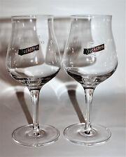 Duckstein Bier Gläser Glas 2x Stielglas mit Logo 0,3l beer Bar Gastro NEU OVP