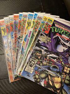 Archie TMNT Teenage Mutant Ninja Turtles Adventures 1 2 3 4 5 7 8 9 10 12 13 Lot