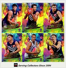 2017 Select AFL Footy Stars Trading Card Holofoils Card Team Set(9)-FREMANTLE
