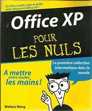 WALLACE WANG OFFICE XP POUR LES NULS