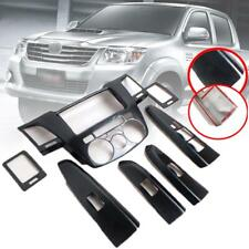Console Cover Air Panel Carbon For Toyota Hilux Vigo SR MK7 4 Doors 2012-2015