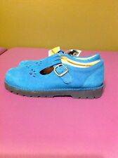 Ricosta DER JUNGE SCHUH Blue Suede Leather Oxfords women's Size 5 US 35 EU Shoes