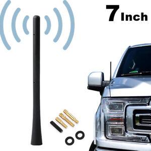 "7"" Universal Car AM/FM Radio Antenna Mast Signal Roof Aerial SUV Replacement Kit"