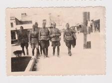 Greece KAVALA Bulgarian Occ Officers ww2 Military Orig Photo (50573)