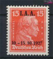 Deutsches Reich 408 mit Falz 1927 Internationales Arbeitsamt (9146629